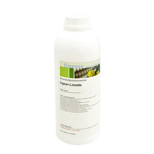 Finesse – Esence pro sauny, koncentrát - Zázvor, Limetka, 1000 ml