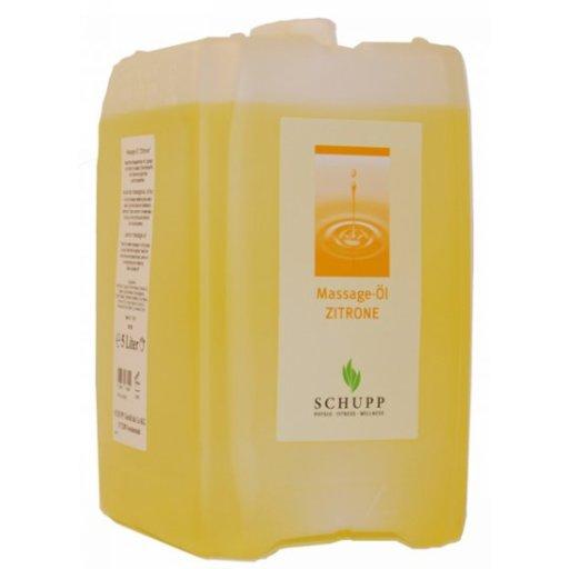 Masážní olej Citrón - 5000 ml