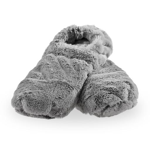 Hřejivé bačkory de Luxe - šedé M